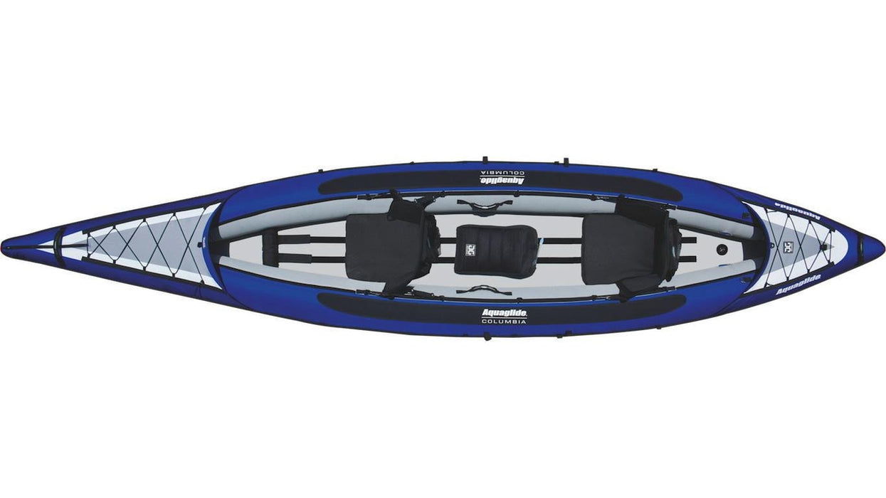 Aquaglide Columbia™ XP Tandem XL 3 Person Inflatable Kayak - Air Kayaks Direct