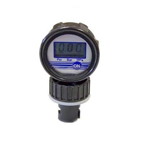 Aquaglide Digital Pressure Gauge - HR Valve
