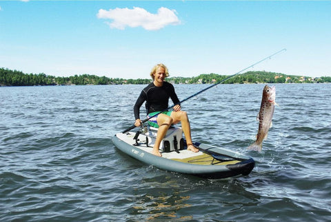 "Aqua Marina Drift Fishing 10' 10"" Inflatable SUP Paddleboard"