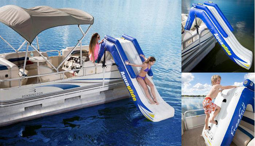 Aquaglide Freefall Pontoon Inflatable Slide - Aquaglide - Air Kayaks Direct