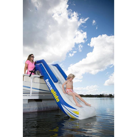 Aquaglide Freefall Pontoon Inflatable Slide