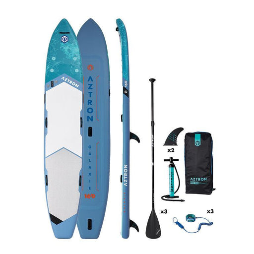 Aztron Galaxie 16ft Inflatable SUP Paddleboard Deluxe Bundle - Aztron - Air Kayaks Direct