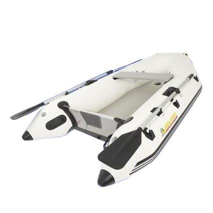Island Inflatables Premium Inflatable Dinghy Boat - Air Deck 2.6m - Island Inflatables - Air Kayaks Direct