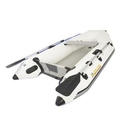 Island Inflatables Premium Inflatable Dinghy Boat - Air Deck 2.6m