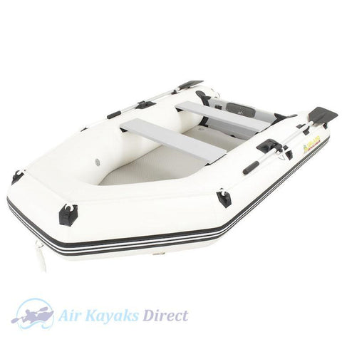 Island Inflatables Premium Inflatable Dinghy Boat - Air Deck 2.9m