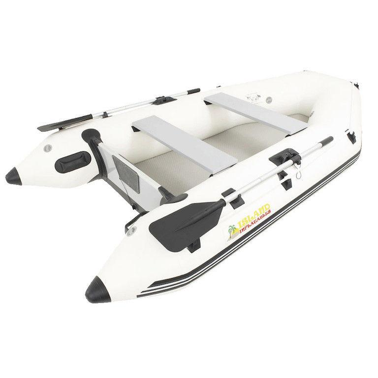 Island Inflatables Premium Inflatable Dinghy Boat - Air Deck 2.9m - Island Inflatables - Air Kayaks Direct