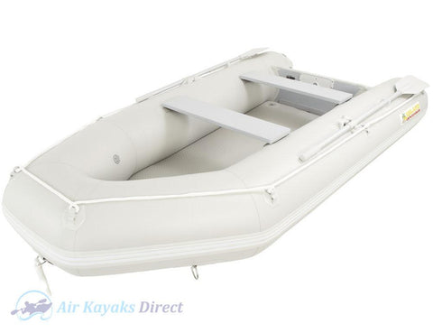 Island Inflatables Premium Inflatable Dinghy Boat - Air Deck 3.3m