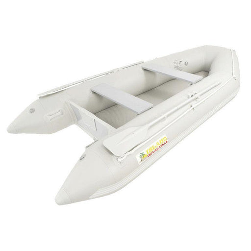 Island Inflatables Premium Inflatable Dinghy Boat - Air Deck 3.3m - Air Kayaks Direct
