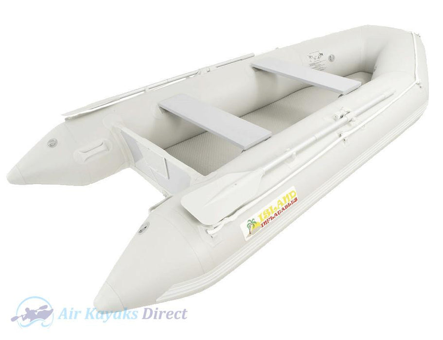 Island Inflatables Premium Inflatable Dinghy Boat - Air Deck 3.3m - Island Inflatables - Air Kayaks Direct