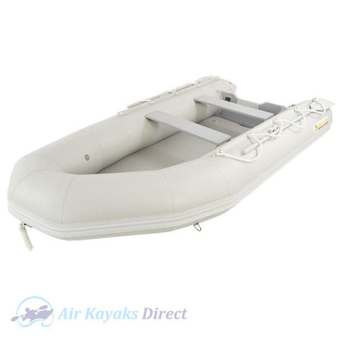 Island Inflatables Premium Inflatable Dinghy Boat - Air Deck 3.65m