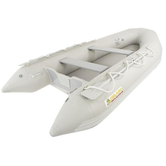 Island Inflatables Premium Inflatable Dinghy Boat - Air Deck 3.65m - Island Inflatables - Air Kayaks Direct