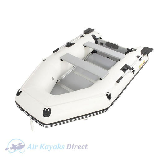 Island Inflatables Premium Inflatable Dinghy Boat - Wood Floor 2.9m - Air Kayaks Direct