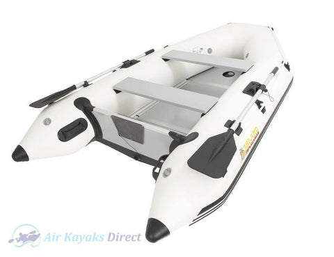 Island Inflatables Premium Inflatable Dinghy Boat - Wood Floor 2.9m