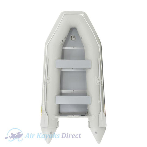 Island Inflatables Premium Inflatable Dinghy Boat - Wood Floor 3.3m