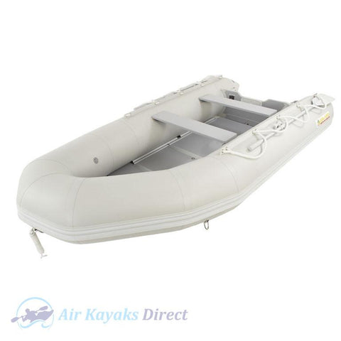 Island Inflatables Premium Inflatable Dinghy Boat - Wood Floor 3.65m