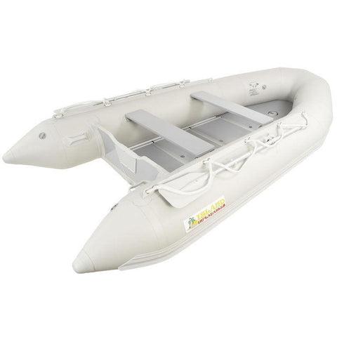 Island Inflatables Premium Inflatable Dinghy Boat - Wood Floor 3.85m