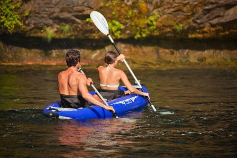 Aquaglide Klickitat HB 2 - 2 Person Whitewater Inflatable Kayak