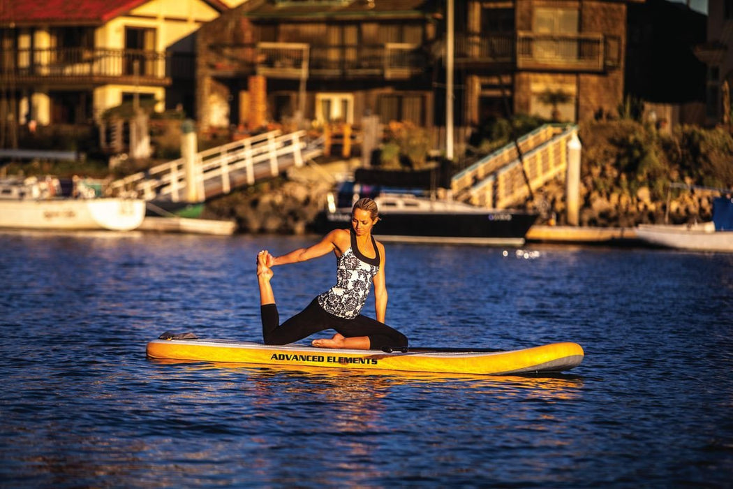 Advanced Elements Lotus 10ft YSUP Inflatable Yoga SUP Paddleboard - Advanced Elements - Air Kayaks Direct
