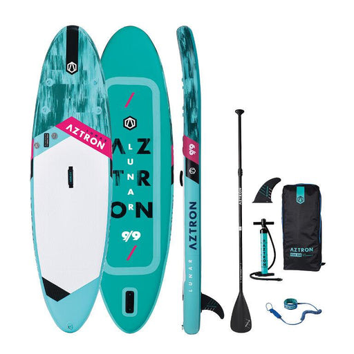 "Aztron Lunar 9'9"" Inflatable SUP Paddleboard Deluxe Bundle - Aztron - Air Kayaks Direct"