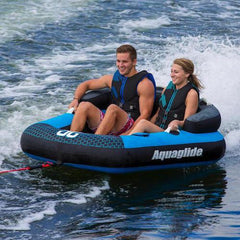 Aquaglide Supercross™ 2 Person Inflatable Towable + Free Tow Rope