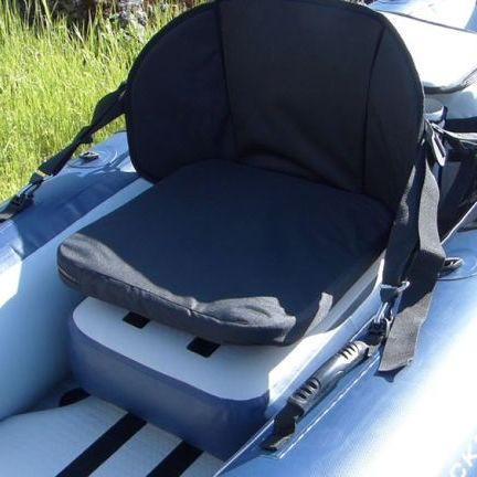 Aquaglide Bolster Seat Riser (Dropstitch Cushion) - Aquaglide - Air Kayaks Direct