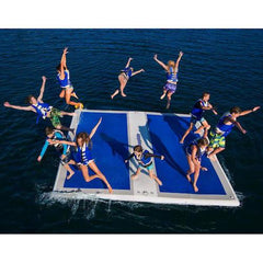 Aquaglide Inflatable Landing Pad™ Boat Dock - 4m x 4m