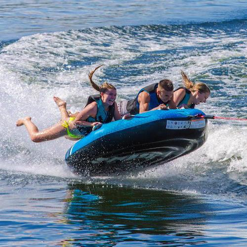 Aquaglide Spitfire™ 70 3 Person Inflatable Towable + Free Tow Rope - Aquaglide - Air Kayaks Direct