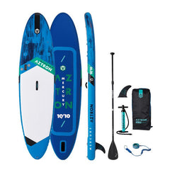 Image of Aztron Mercury 10'10 Inflatable SUP Paddleboard Deluxe Bundle