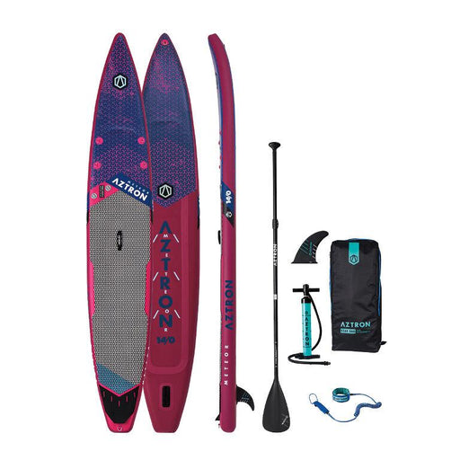 Aztron Meteor 14ft Inflatable SUP Paddleboard Deluxe Bundle - Aztron - Air Kayaks Direct
