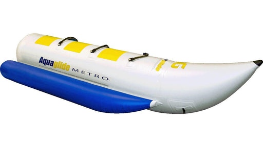 Aquaglide Metro™ 3 Person Banana Boat Inflatable Towable - Aquaglide - Air Kayaks Direct