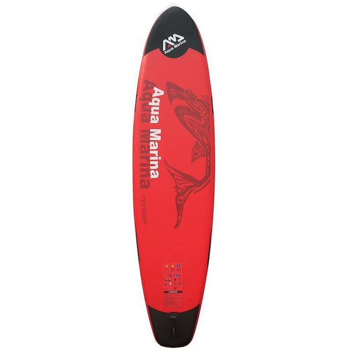 Aqua Marina Monster 12ft Inflatable SUP Deluxe Package - 3.7m - Aqua Marina - Air Kayaks Direct
