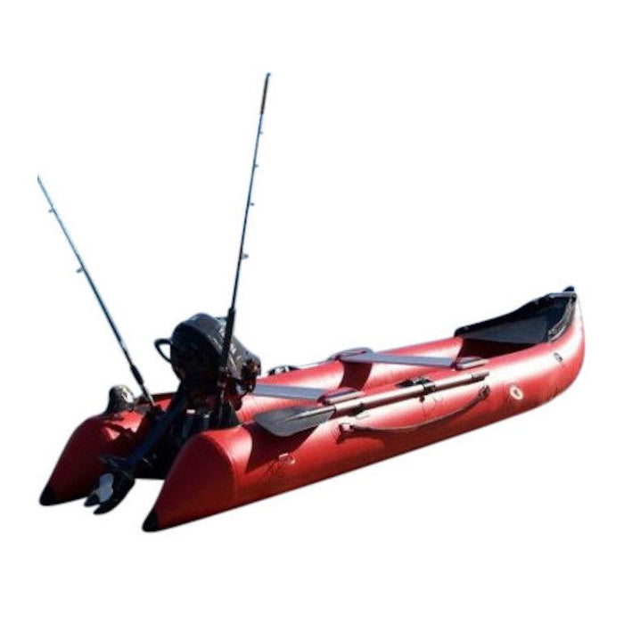 Nifty Boat Inflatable Fishing Dinghy Boat - 3.65m Red - Nifty Boat - Air Kayaks Direct