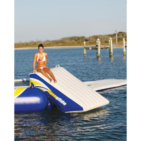 Aquaglide Inflatable Plunge Slide