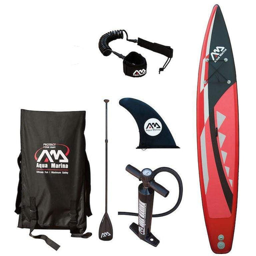 Aqua Marina Race 14ft Inflatable SUP Deluxe Package - 4.3m - Air Kayaks Direct