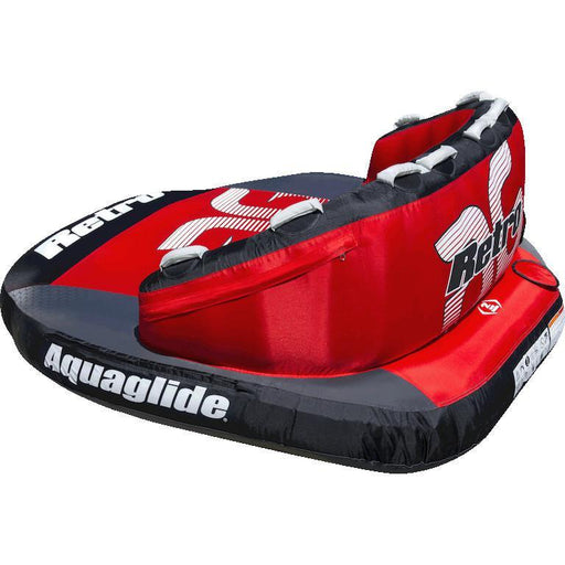 Aquaglide Retro™ 3 Person Inflatable Towable + Free Tow Rope - Aquaglide - Air Kayaks Direct