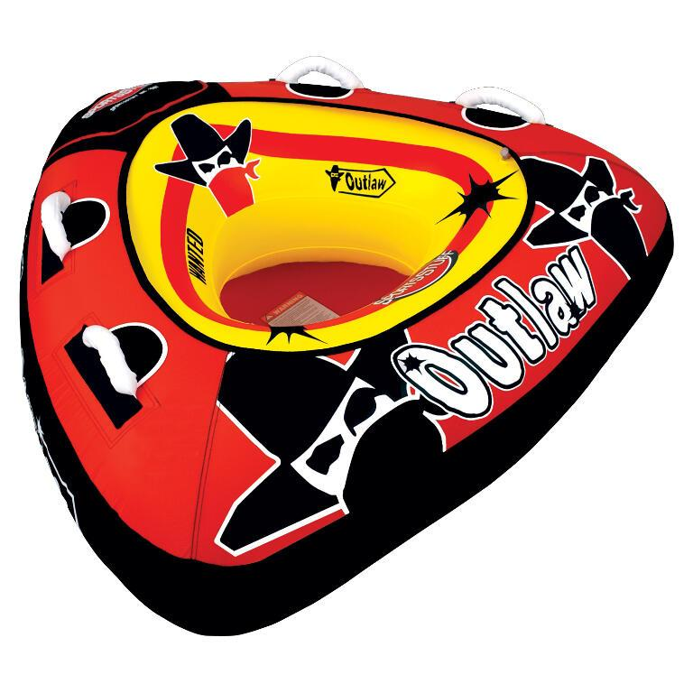 Sportsstuff Outlaw Inflatable Towable Tube - 1P - Sportsstuff - Air Kayaks Direct