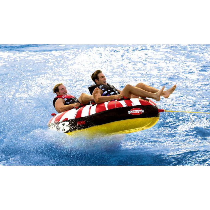 Sportsstuff Crazy 8 Inflatable Towable Tube - 2P - Sportsstuff - Air Kayaks Direct