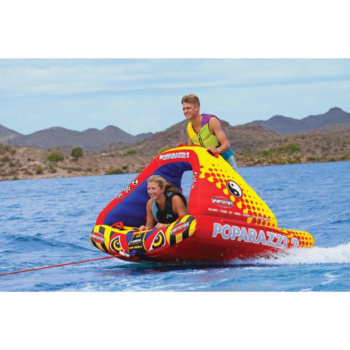Sportsstuff Poparazzi Inflatable Towable Tube - 2P - Sportsstuff - Air Kayaks Direct