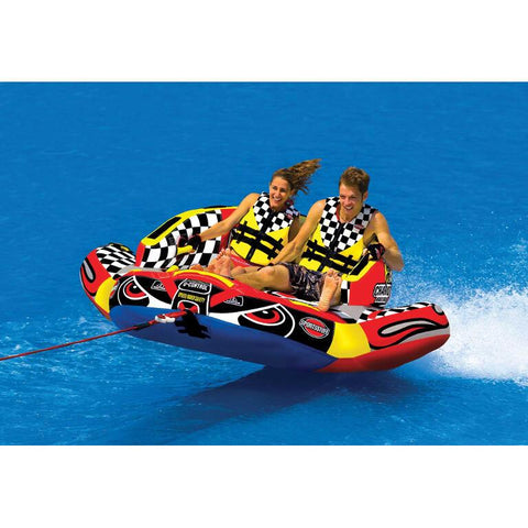Sportsstuff Chariot Warbird 2 Inflatable Towable Tube - 2P