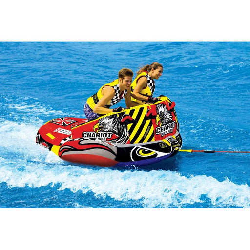 Sportsstuff Chariot Warbird 2 Inflatable Towable Tube - 2P - Sportsstuff - Air Kayaks Direct
