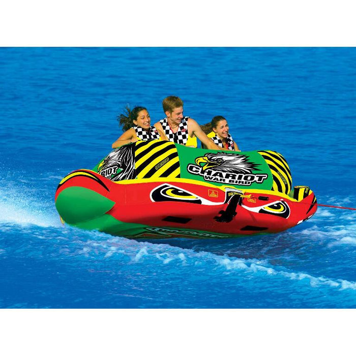 Sportsstuff Chariot Warbird 3 Inflatable Towable Tube - 3P - Sportsstuff - Air Kayaks Direct