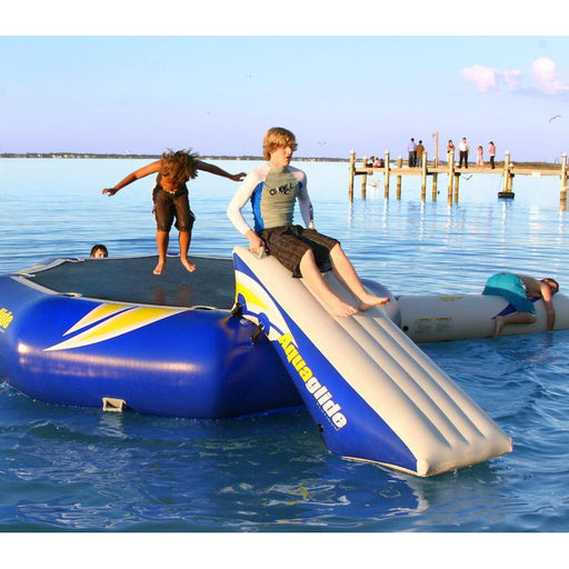 Aquaglide Inflatable Rebound Slide 12 w/ FREE Captains Chair - Aquaglide - Air Kayaks Direct