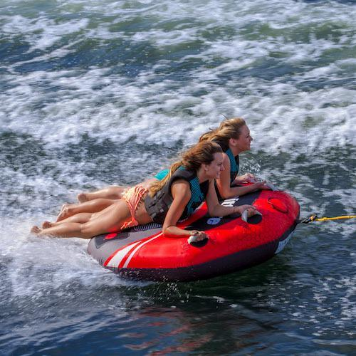 Aquaglide Spitfire™ 60 2 Person Inflatable Towable + Free Tow Rope - Aquaglide - Air Kayaks Direct