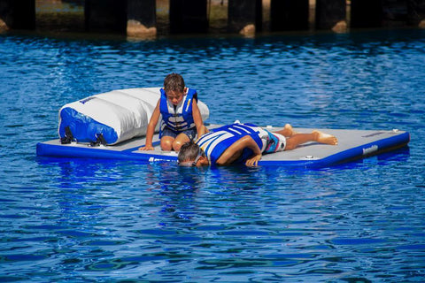 Aquaglide Sundeck™ Inflatable Water Lounge - 2.3m x 2.3m