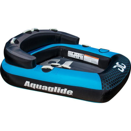 Aquaglide Supercross™ 2 Person Inflatable Towable + Free Tow Rope - Aquaglide - Air Kayaks Direct
