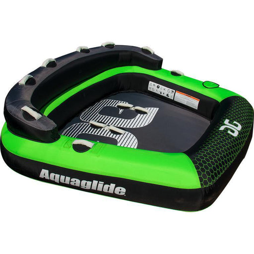 Aquaglide Supercross™ 3 Person Inflatable Towable + Free Tow Rope - Aquaglide - Air Kayaks Direct
