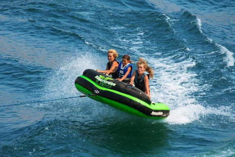 Aquaglide Supercross™ 3 Person Inflatable Towable + Free Tow Rope