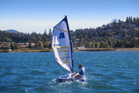 Aquaglide Supersport™ Inflatable Sailboat Windsurfer