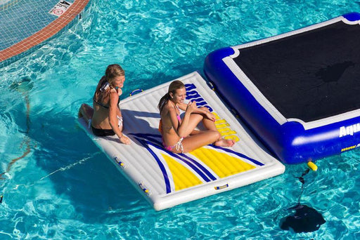 Aquaglide Inflatable Swimstep™ XL Swim Platform - 1.5m x 2m - Air Kayaks Direct