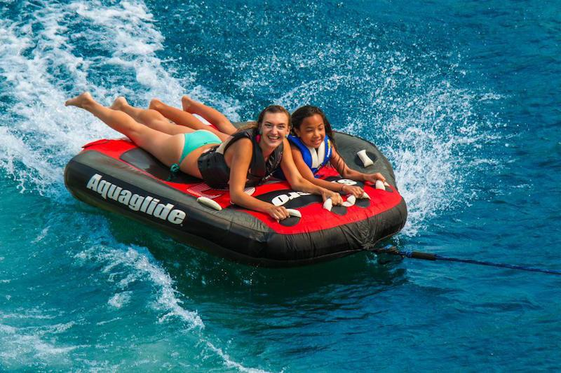 Aquaglide Syncro™ 3 Person Inflatable Towable + Free Tow Rope - Aquaglide - Air Kayaks Direct